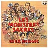 """Afficher """"Les monstres sacrés de la musique - Coffret 4 CD"""""""