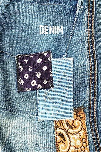 rnal : vintage patched denim jeans :  indigo bandana engineer stripe patchwork ()