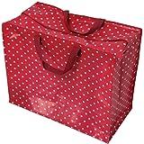 Rex London 85099B - große Aufbewahrungstasche Jumbo Bag - Red Retrospot