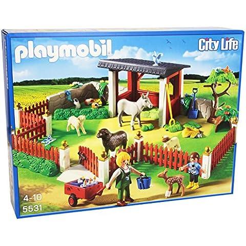 Playmobil Veterinaria - Estación de cuidados al aire libre, playset (5531)