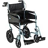 Days Escape Wheelchair, Lite aluminium, lichtgewicht en opvouwbaar frame, mobiliteit Aids, Attendant Propelled, comfortabele