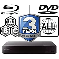 Sony BDP-S1700 Multi Region All Zone Code Free Blu-ray Player. Blu-ray Zones A, B and C, DVD…
