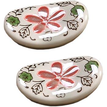 Blatt Fisch Form Holz Essstäbchenhalter Hashioki Japanisch Besteck Tischdeko Neu
