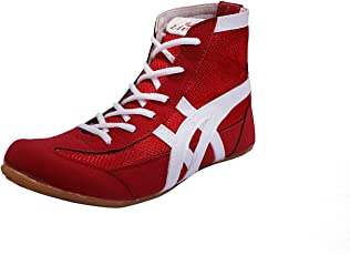 Livia Sports Men's RED Boxing Shoes