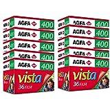 AgfaPhoto APX 400 Prof 135-36 schwarz / weiß Film (10-er Pack bis zu 360 Aufnahmen) - gut und günstig