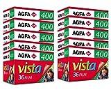AgfaPhoto APX 400 Prof 135-36 Schwarz/wei� Film (10-er Pack bis zu 360 Aufnahmen) Bild