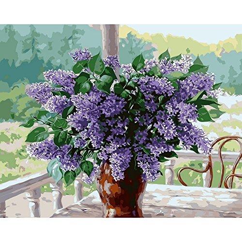 Fairlove Peinture Par Numéro Kit 16 * 20 Pouces Diy Peinture à l'huile Decoration de Murale Bureau Cadeau Décor Salon Maison Pour Adulte Enfant