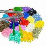 Tomkity 20 Colores T5 Snaps Botón Redondo Plastico con Alicate DIY Manualidades