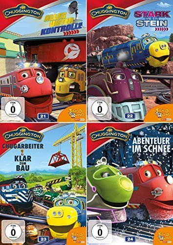 Chuggington Volume 21 + 22 + 23 + 24 Collection - Deutsche Originalware [4 DVDs]