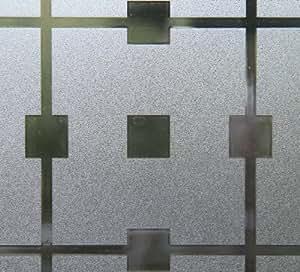 JOY static rouleau de film statique adhésif-manhatten floraux carreaux 150 x 45 cm