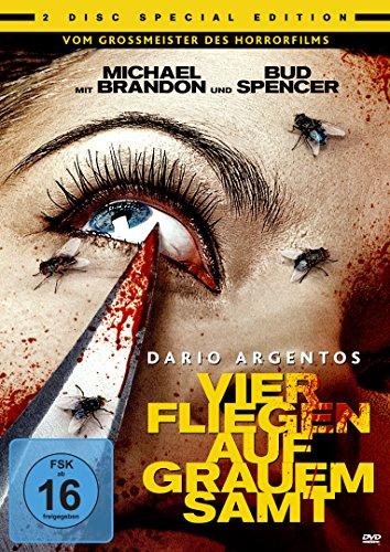 Dario Agentos Vier Fliegen auf grauem Samt - Special Edition [2 DVDs]