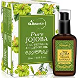 #9: StBotanica Golden Virgin Jojoba Pure Coldpressed Oil, 50ml (For Hair & Skin)