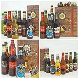 BIERE DER WELT Geschenk Box für Männer + gratis Bierbuch + Geschenkkarten + mehr. Bierset mit Bier aus Amerika + Asien + Tschechien + Belgien + Spanien … Geschenkset + Biergeschenke aus aller Welt - 3