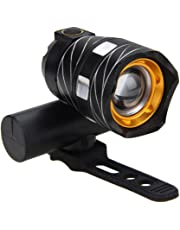 BESTVECH Bicycle Front Light 300LM Zoomable T6 LED Warning Lamp Torch Headlight Safety Bike Light