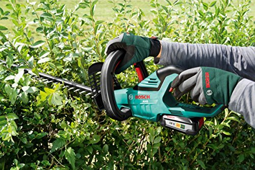 Bosch AHS 50-20 LI Cordless Hedge Cutter with 18 V Lithium-Ion Battery, 500 mm Blade Length, 20 mm Tooth Opening