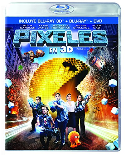 Pixeles Español Latino (BD 3D+BD+DVD)