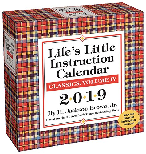 Life'S Little Instruction 2019 Day-to-Day Calendar - Desktop-kalender-easel