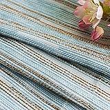 XPY-Curtain Gardine Vorhänge Gardinen Einfacher nordischer Art Chenille Stripes verdunkeln den Wohnzimmerschlafzimmerboden des Wohnzimmers, 250, A