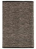 Trendcarpet Teppich 160 x 230 cm (baumwollteppich) - Slite (Schwarz-weiß) Größe 160 x 230 cm
