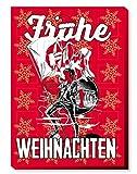 1. FC Kaiserslautern Adventskalender Weihnachtskalender gefüllt Faire Trade Edelschokolade