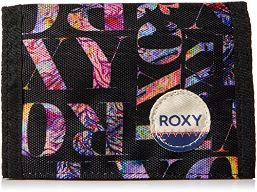 Roxy Damen Small J Wallets, Schwarz, One size (Roxy Black Wallet)