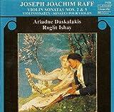 Violin Sonatas Nos. 2 & 5 by JOSEPH JOACHIM RAFF (2007-11-30)