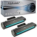 2 Toner Alphaink Compatibili con HP W1106A SENZA CHIP per Stampanti HP Laser MFP 135a, 135w, 137fnw, 107a, 107w, 106a Version