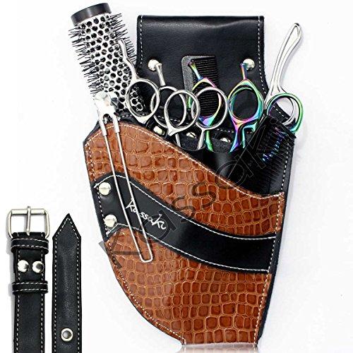 Friseur Schere Tasche von Kassaki–Tan Werkzeug-Gürteltasche Limited Edition