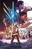 Póster Star Wars Episode 8: The Last Jedi - Blue Saber/Sable Azul (61cm x 91,5cm) + embalaje...