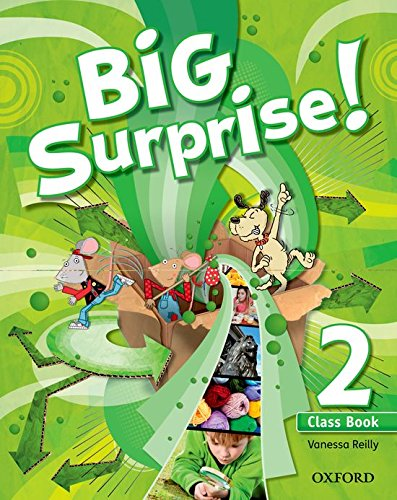 Big Surprise! 2. Class Book + Multi-Rom - 9780194516211