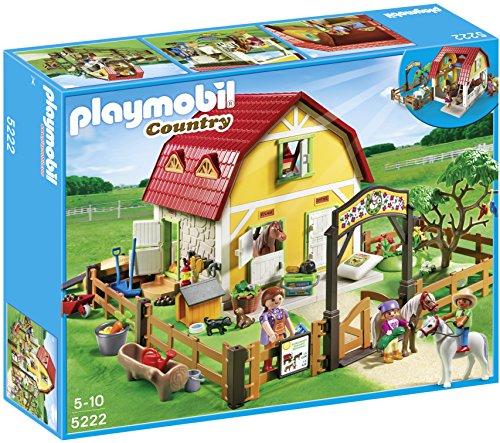 Playmobil - Granja: rancho de ponis...