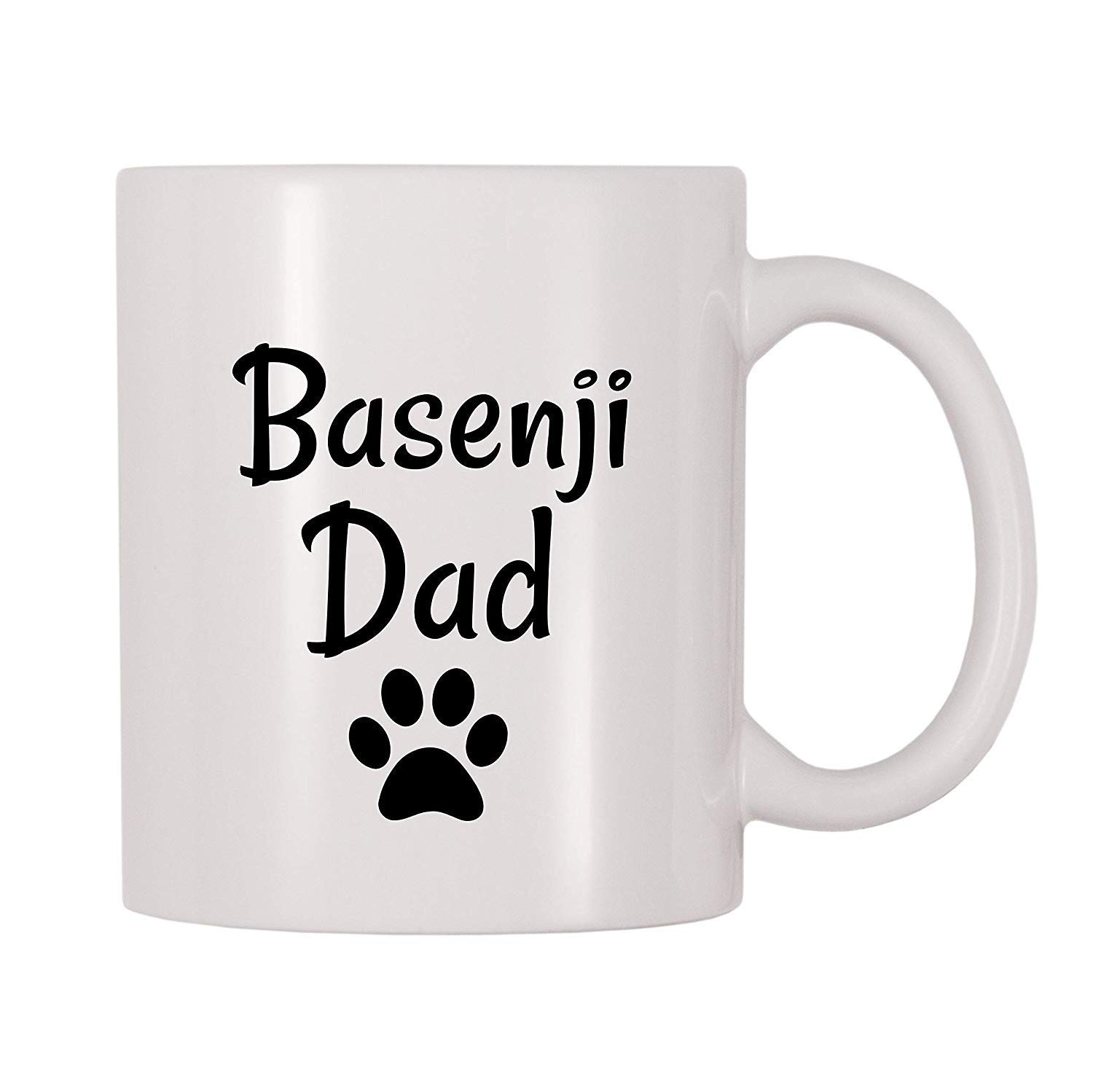 Basenji Dad Coffee 11 Ounces Funny Coffee Mug