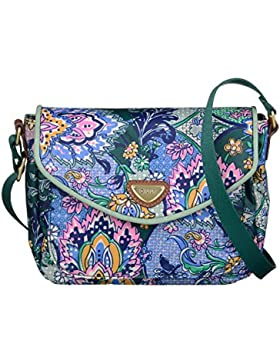Oilily French Paisley Schultertasche S (Small) Emerald