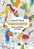 Magischer Malspaß: Dinosaurier: Malen nach Zahlen und Farben