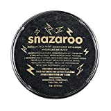 Snazaroo Face and Body Paint, 18ml, Individual Color, Metallic Electric Black