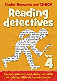 Year 4 Reading Detectives: Teacher Resources with free online download