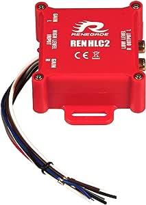 Renegade Ren Hlc2 2 Kanal Highlow Wandler Mit Auto Elektronik
