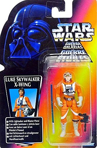Hasbro Star Wars Power of the Force Collection Luke Skywalker in X-Wing Pilot Gear