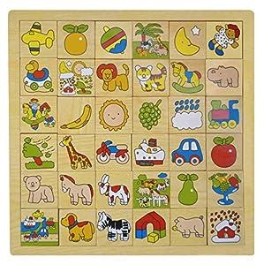 Nathan nathan387190Cuentos de Hadas 3Puzzle de Madera (18/24Piezas)