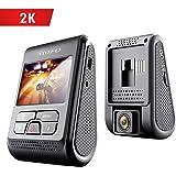 VIOFO A119 Dash Cam 2560x1440P 2K Super HD 160° Wide Angle Dash Camera Discreet Design with GPS Logger