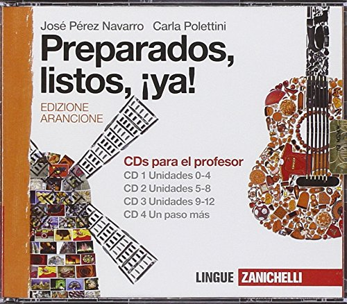 Preparados, listos, ¡ya. Per la Scuola media! 4 CD Audio