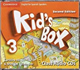 Kid's Box for Spanish Speakers  Level 3 Class Audio CDs (4) 2nd Edition - 9788490364352