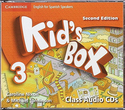 Kid's Box for Spanish Speakers  Level 3 Class Audio CDs (4) 2nd Edition - 9788490364352 por Caroline Nixon