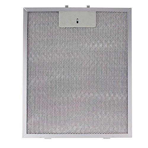 spares2go universal dunstabzugshaube metall fettfilter silver 320 x 260mm 2 st ck. Black Bedroom Furniture Sets. Home Design Ideas