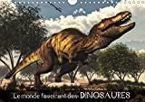 Le monde fascinant des dinosaures (Calendrier mural 2018 DIN A4 horizontal): Pénétrez dans le monde fascinant des dinosaures et de la préhistoire ! (Calendrier mensuel, 14 Pages ) (Calvendo Animaux)