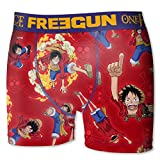 Boxer Freegun Enfant One Piece Luffy (6/8 ans)