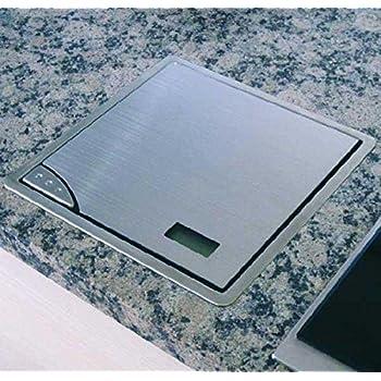 Elektronische Kuchen Einbauwaage Schwarz Edelstahl Amazon De Kuche
