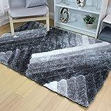 flair Rugs tappeto Ascent lattice, colore: grigio/argento, 120x 170cm