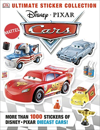 Ultimate Sticker Collection: Disney Pixar Cars: More Than 1,000 Stickers of Disney Pixar Diecast Cars! (Ultimate Sticker Collections) por Dk