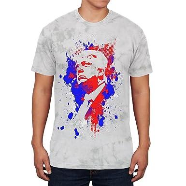 4. Juli patriotischen Präsident Donald Trump Silhouette Junioren weichen T  Shirt: Amazon.de: Bekleidung
